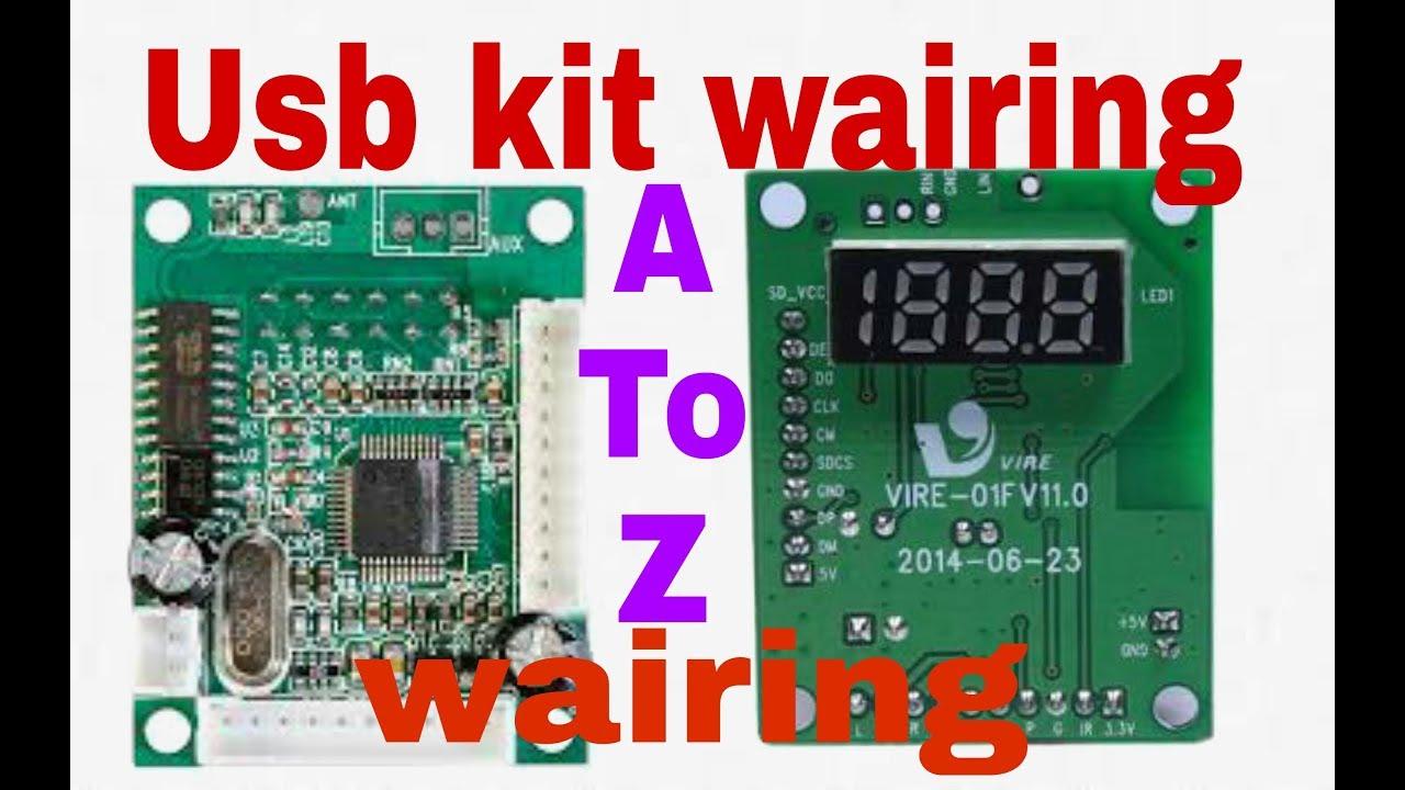 how to make usb kit wairing || simpel make usb sd mp3 player kit wairing Ja Bluetooth Wiring Diagram on