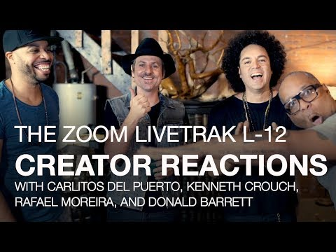LiveTrak L-12: Creator Reactions