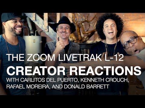 LiveTrak L-12: Creator Reactions