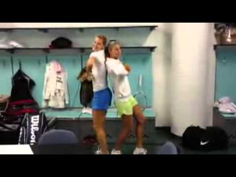 Czech Fed Cup Team 2012 Call Me Maybe