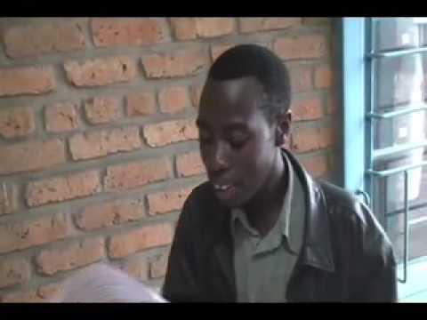 """Oliver Baganizi sings """"Ryama Mwana Wanje"""""""