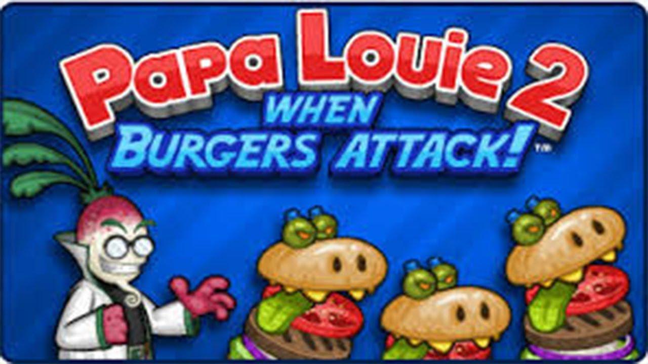 Papa Louie 2 Gameplay [Level 8]