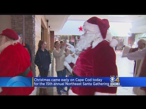 Annual Northeast Santa Gathering On Cape Cod