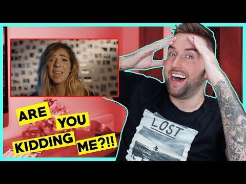 Gabbie Hanna - Out Loud (Official Music Video) Reaction!!  //  thatsNathan