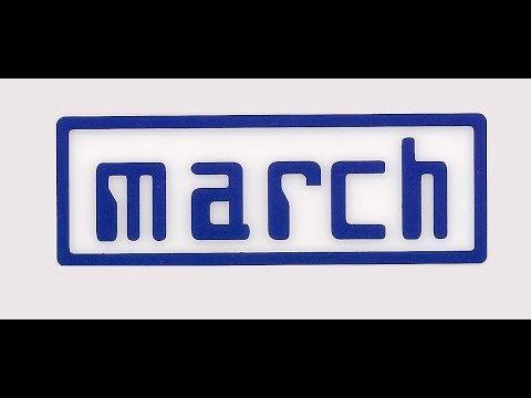 David Ferrer March 701 (HD sound))