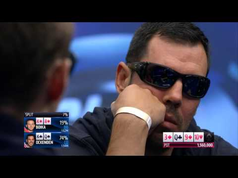 EPT 13 Malta 2016 Main Event Final Table | PokerStars