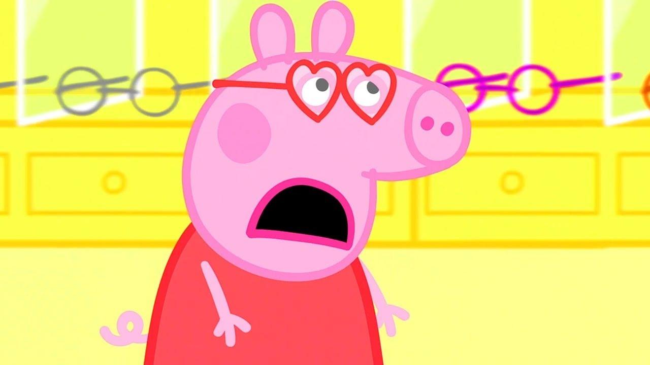 Peppa Pig Français | L'examen De La Vue | Épisodes Complets | Dessin Animé Pour Bébé