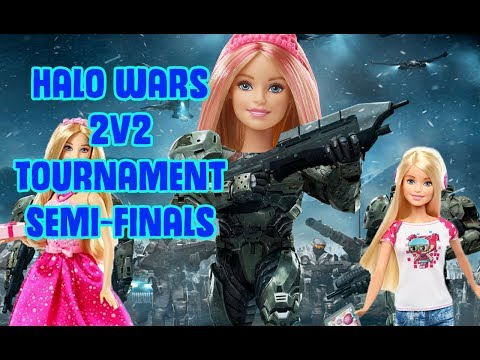 Halo Wars 2v2 Tournament Semi-Finals vs Semantic and Shaw (High Level Game play)
