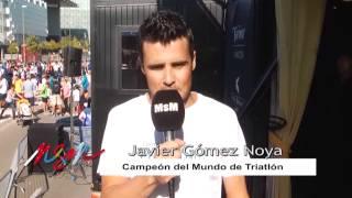 Madrid se Mueve 45 Saludo de Javier Gomez Noya