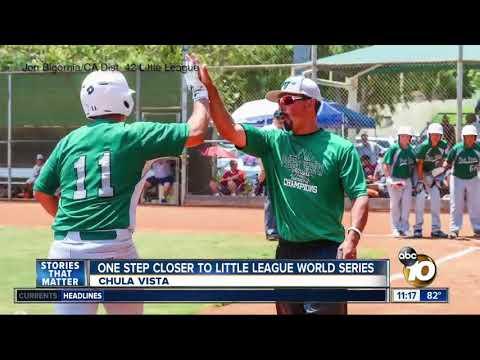 Chula Vista boys move closer to Little League World Series