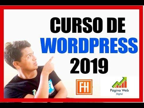 ✅TUTORIAL WORDPRESS completo en Español 2019 - VÍDEO #1🔥🎯 thumbnail