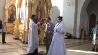 Венчание Андрея и Елены в Троицкой церкви г. Тамбова