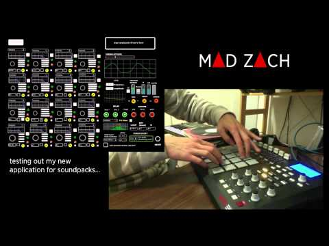 mad zach finger drumming with his secret new app and an mpd pt 2 rh youtube com