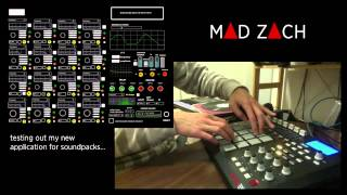 Mad Zach finger drumming with his secret new app and an MPD pt. 2 Thumbnail