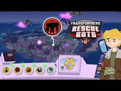 Transformers Rescue Bots: Hero Adventures #17 | Defeat Dr. Morocco's Evil Morbots! By Budge Studios