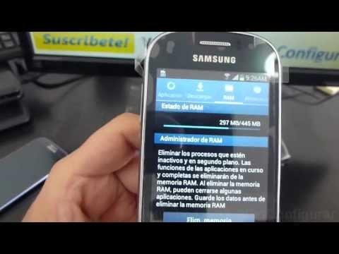 capacidad de almacenamiento samsung galaxy Fame gt 6810 Review español Video Full HD