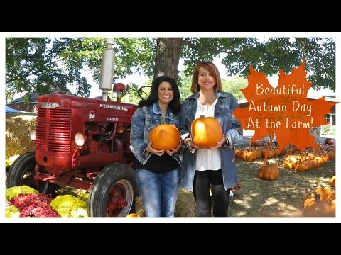 A Beautiful Autumn Day At The Farm | The 2 Orchids