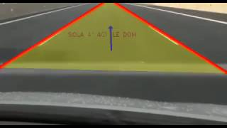 Line detection and vehicle routing with OpenCV.