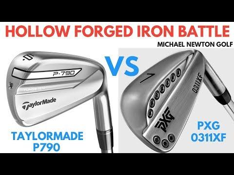 TaylorMade P790 Iron VS PXG 0311XF Iron Head To Head