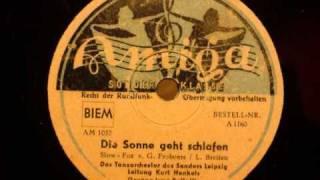 Kurt Henkels - Die Sonne geht schlafen