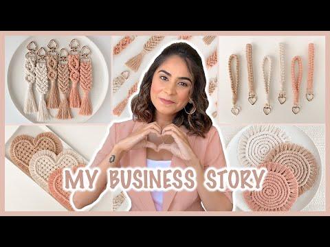 How I Started My Handmade Business | Macrame Keychains & Coasters | Kreena Desai