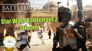 Star Wars Battlefront 2 Stream Galactic Assault, Starfighter Assault And Heroes Vs Villain