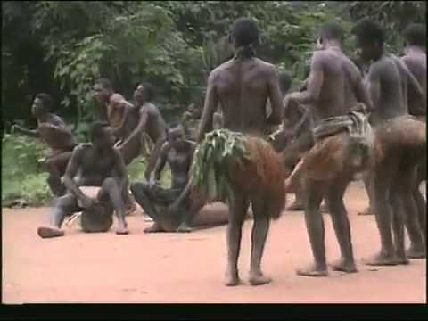 Cameroon Baka Pygmies Traditional Dance