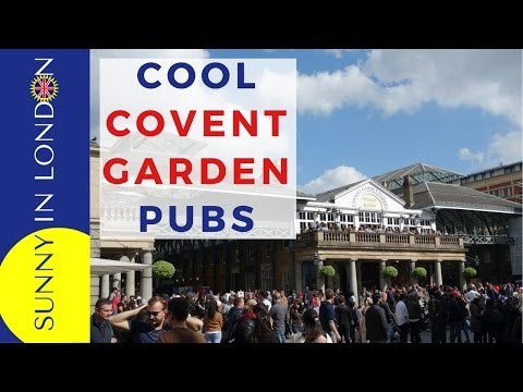 COVENT GARDEN PUBS IN LONDON