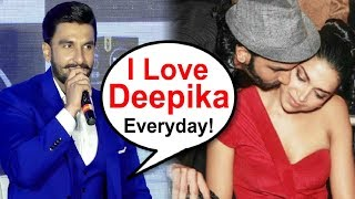 Ranveer Singh Cute Comment On Girlfriend Deepika Padukone
