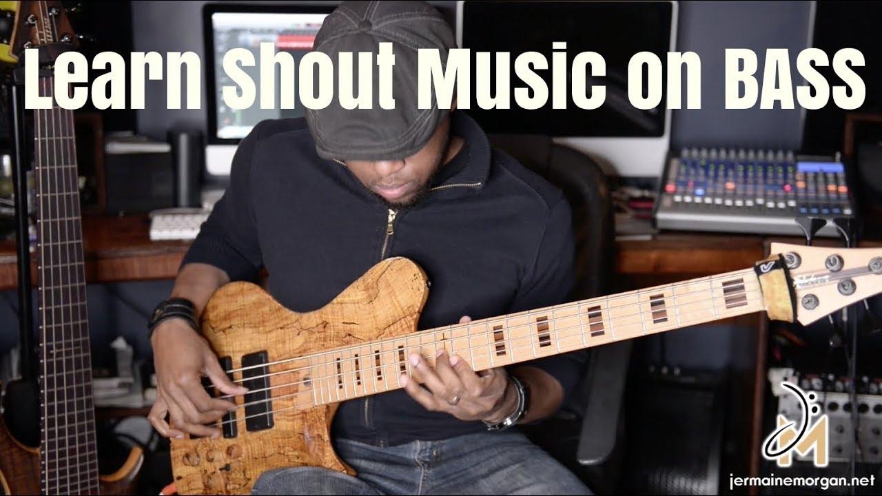 SHOUT BUMP BASS COURSE – Jermaine Morgan| the Bassist