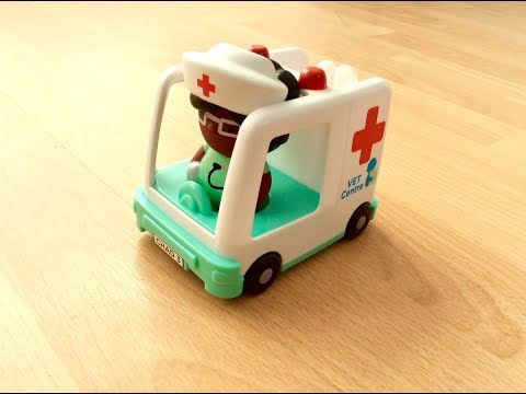 Chad Valley Tots Town Vet Centre Animal Transport Toy Vehicle #chadvalley #totstown #toysworlduk