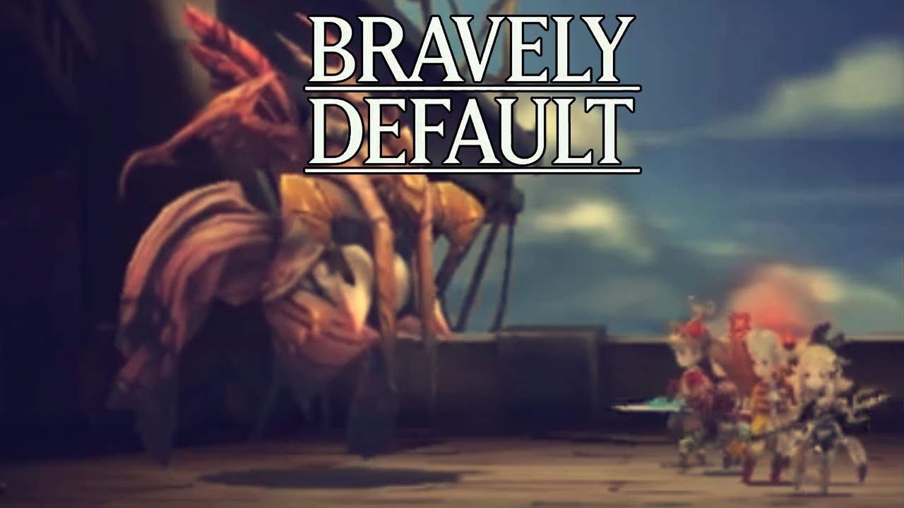 Let's Play Bravely Default Part 83 Airy Boss Battle - Gameplay ...