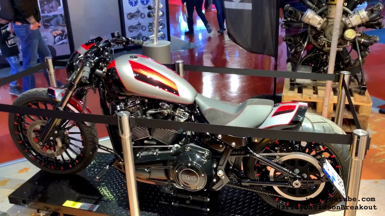 2020 Harley-Davidson Breakout Custom from Germany - YouTube