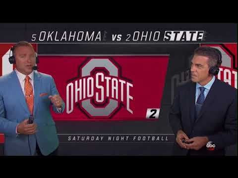 2017 Oklahoma vs Ohio State