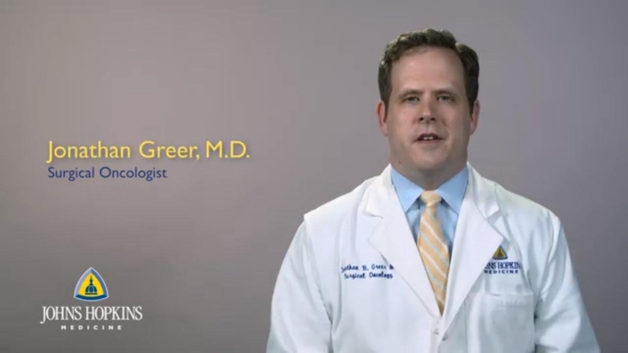 Jonathan Greer, M D , Assistant Professor of Surgery   Johns