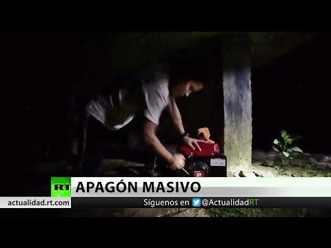 Apagón masivo en Puerto Rico tras la explosión de una subestación eléctrica