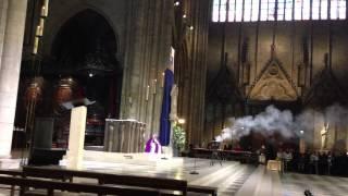 Служба в Соборе Парижской Богоматери(20 марта 2013 года., 2013-03-29T23:55:52.000Z)