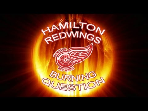 Hamilton Red Wings Burning Question - Who Is Your Favourite NHL Team