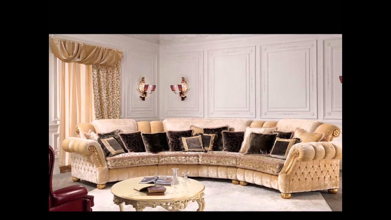 Classic Furniture Luxury Sofas RAVASI SALOTTI - YouTube