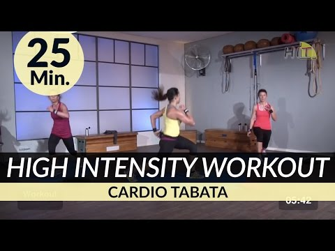 25 Min. HIIT High Intensity Tabata Cardio Workout to loose Weight