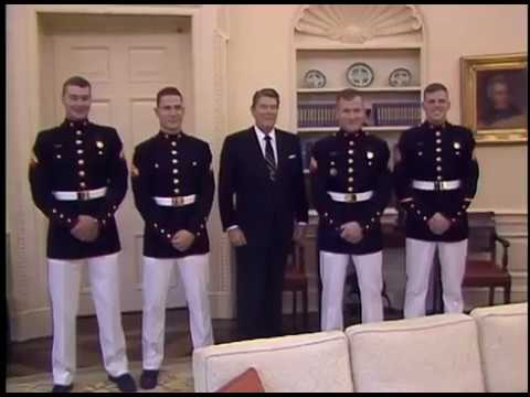President Reagan's Photo Opportunities on October 1, 1987