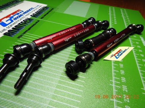 TRAXXAS E-REVO & SUMMIT - Steel Driveshafts by GPM racing