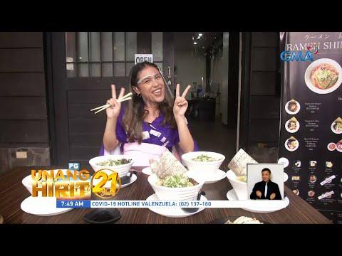Unang Hirit: Japan in Makati with Rain Matienzo!