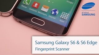 Samsung Galaxy S6 und S6 Edge Fingerabdruck / Fingerprint wie TouchID im Hands On