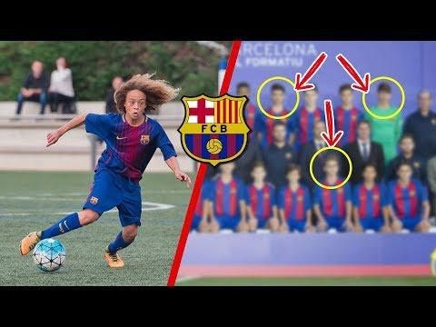 5 Niños de la CANTERA del Barcelona que serán FUTURAS ESTRELLAS