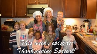 Uncooked With Megan & Tiana: Episode 4 - Thanksgiving Special!