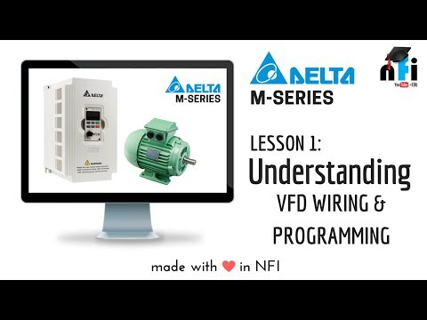Lesson 1 - Understanding the VFD  Variable Frequency Drive