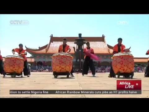 South African girls discover Chinese culture