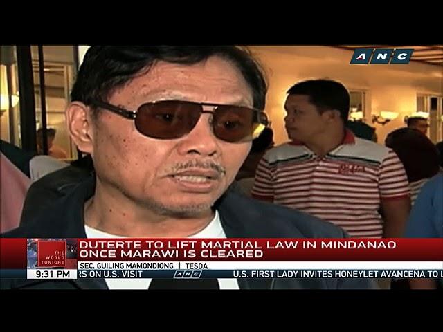 Duterte visits war-torn Marawi anew