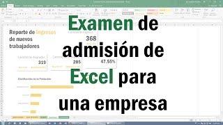 ¡Consigue el Trabajo que Quieres con Excel! Como pasar un Examen de admisión de Excel